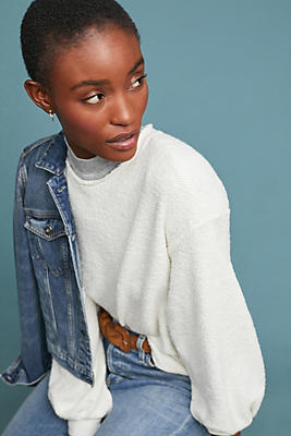 Slide View: 1: Boucle Sweatshirt