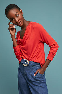 Slide View: 1: Kirby Cowl Neck Top