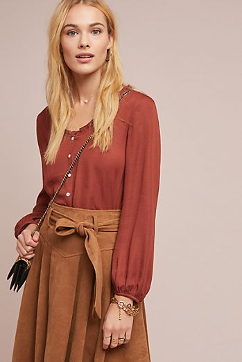 plunging tops shirts for women anthropologie