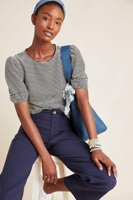 7dc6b65572410 Atacama Maxi Dress $290. Greta Embroidered Peplum Top $120. Santos Striped  Top $88