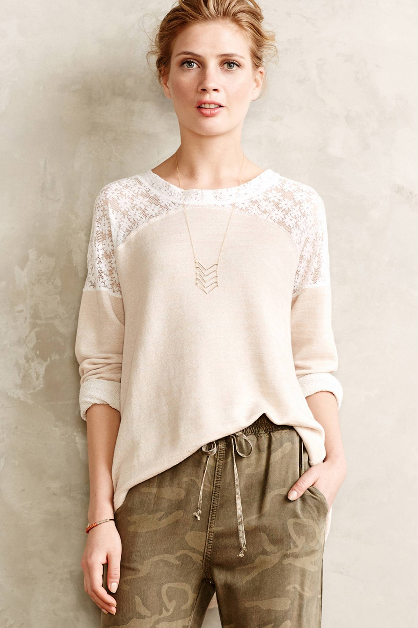 Ingress Lace Pullover