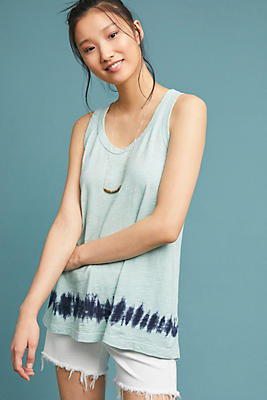 Slide View: 1: Wilt Dip-Dyed Tank