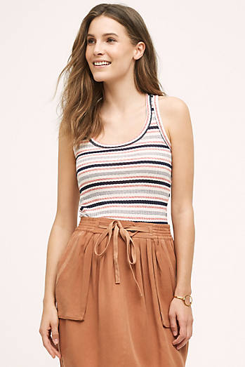 Striped Racer Tank