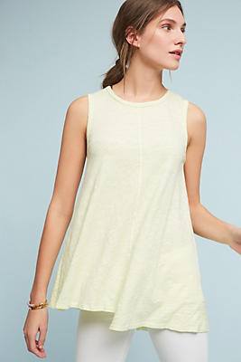 Slide View: 1: Sleeveless Crewneck Tunic