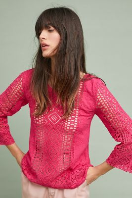 Shavonne Lace Top by Blue Tassel
