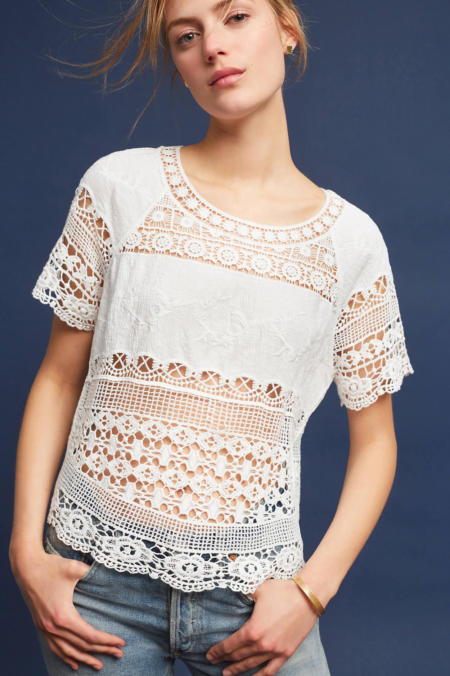 Marilyn Crocheted Top