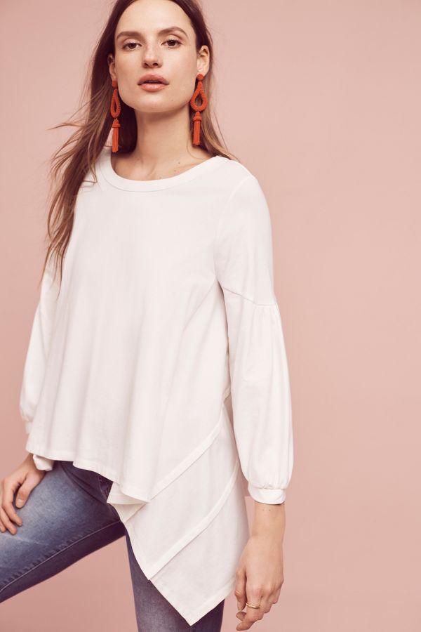 Lili's Closet Petite Bell-Sleeve Top