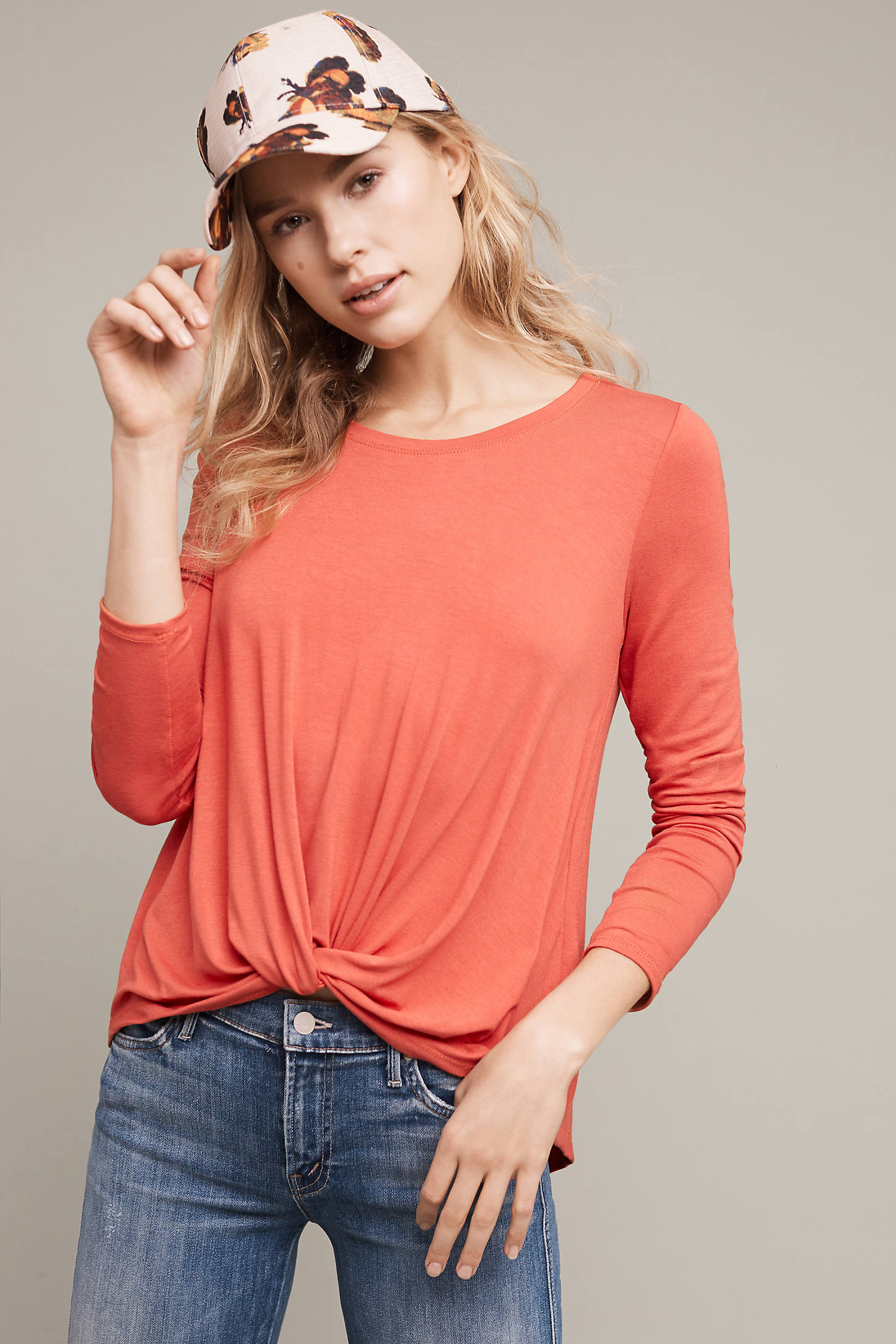 Agency Twist-Front Top