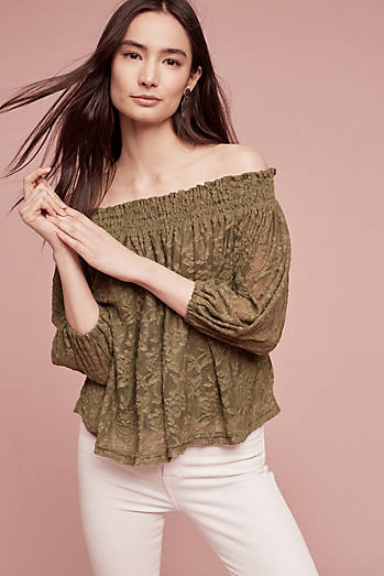 Sommer Off-The-Shoulder Top