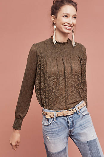 Amanna Lace Top