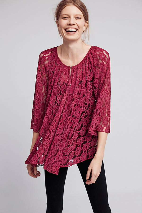 Teleza Lace Swing Top