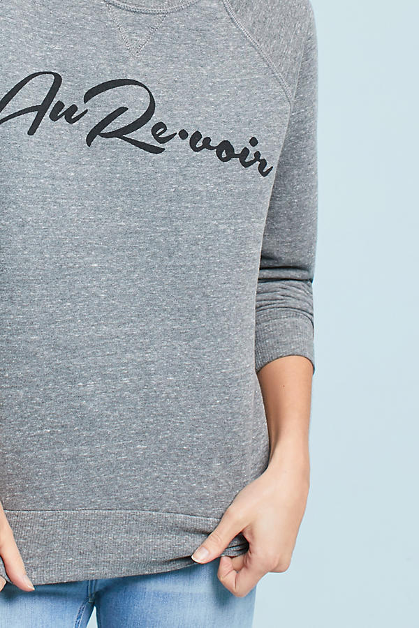 Slide View: 3: Sol Angeles Chic Graphic Sweatshirt