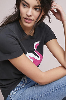 Slide View: 1: Sol Angeles Swan Graphic Tee