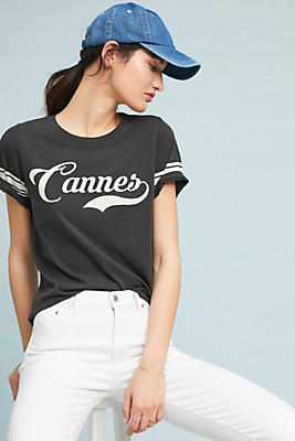 Slide View: 1: Sol Angeles Cannes Graphic Tee