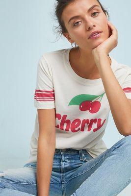 Sol Angeles   Sol Angeles Cherry Graphic Tee  -    IVORY