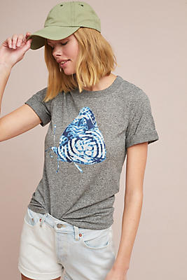 Slide View: 1: Sol Angeles Butterfly Graphic Tee