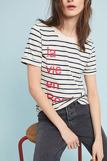Sol Angeles La Vie en Rose Graphic Tee