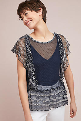 Slide View: 1: Sloane Dotted Top