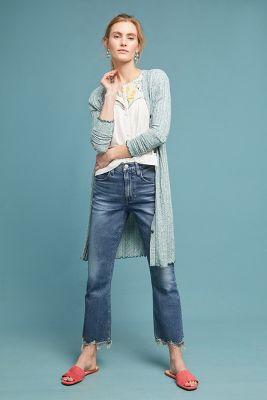 Akemi + Kin   Chateaux Longline Cardigan  -    BLUE