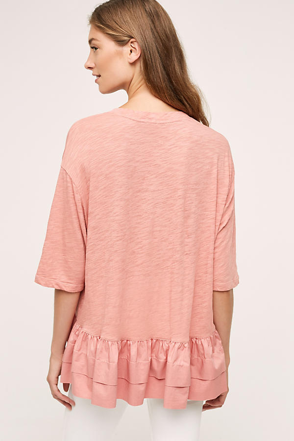Slide View: 2: Cascade Peplum Top