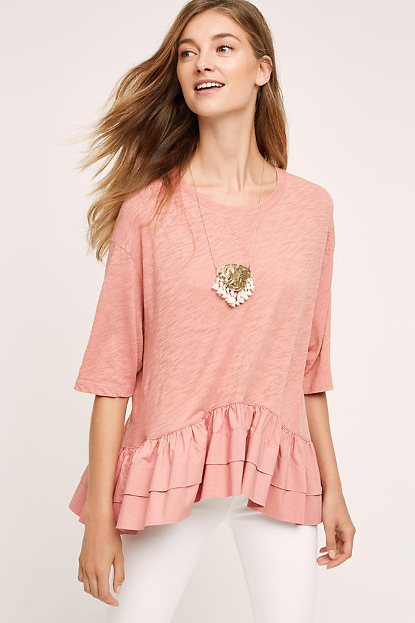 Slide View: 1: Cascade Peplum Top