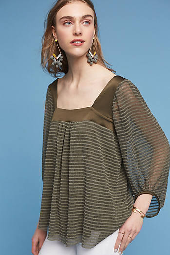 Allyson Textured Top