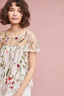 Slide View: 3: Winifred Floral Top