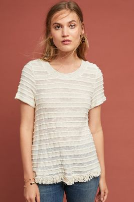 Adia Textured Tee by Eri + Ali