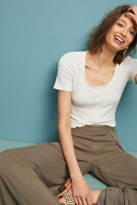 Brandy Short Sleeved Cardigan by Eri + Ali