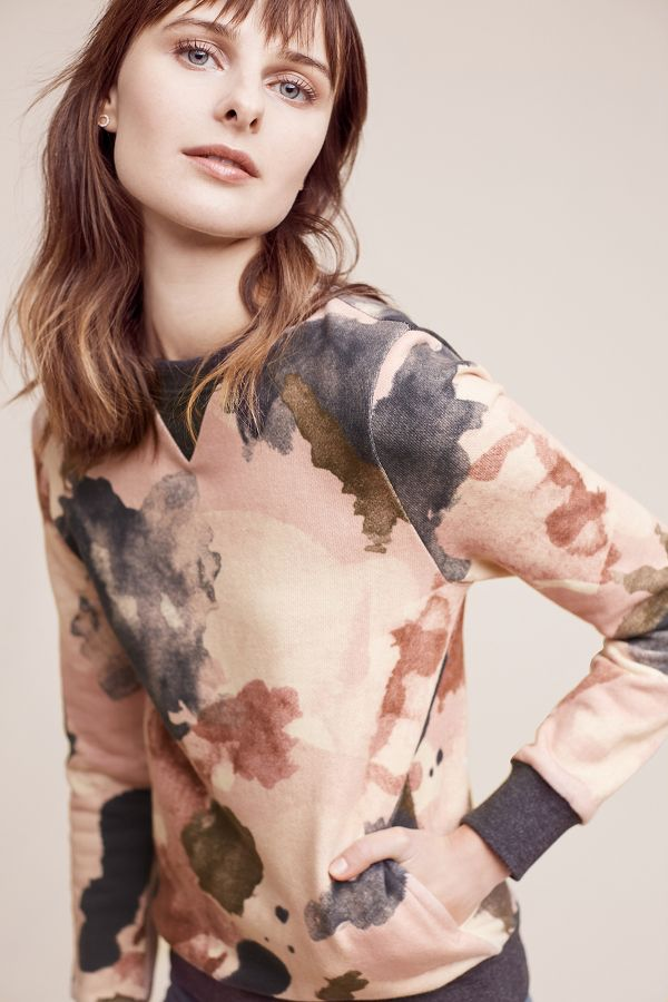 Eri + Ali Watercolor Sweatshirt
