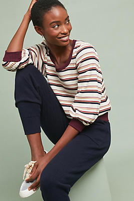 Slide View: 1: Picardy Striped Top