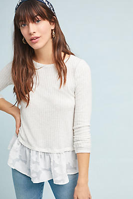Slide View: 1: Williston Ribbed Top