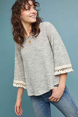 Slide View: 1: Ifrane Textured Pullover