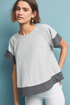 Slide View: 1: Chrissy Colorblocked Top