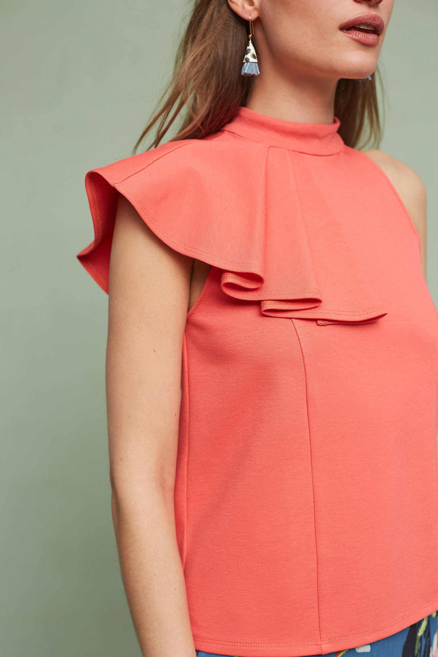 Ruffled Nobility Top
