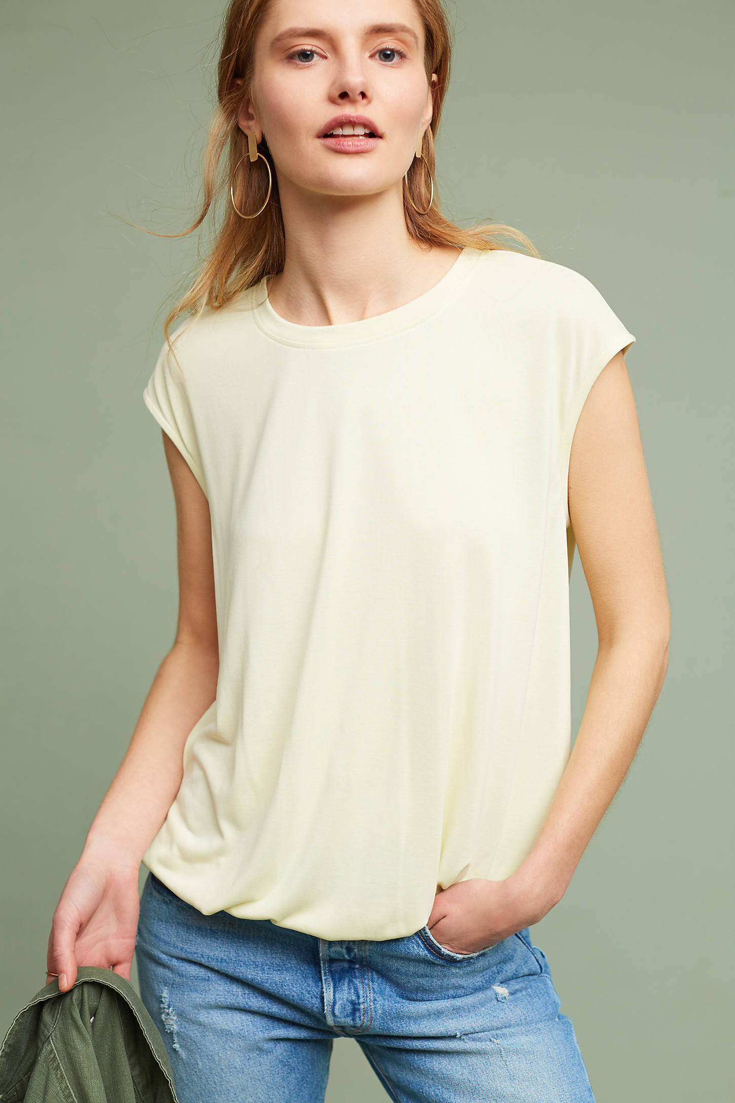Bubbled Shell Top