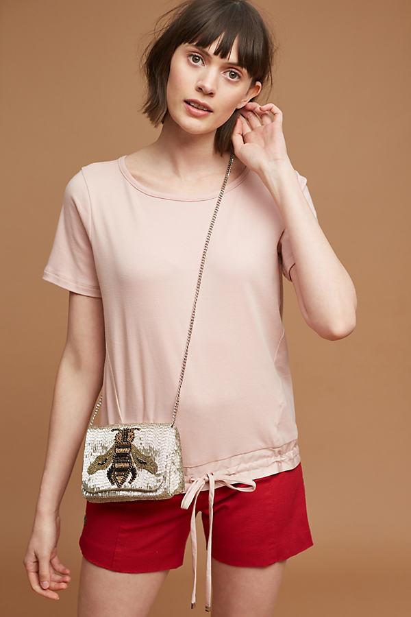 Teagan Side-Tie Top, Pink - Pink, Size Xl