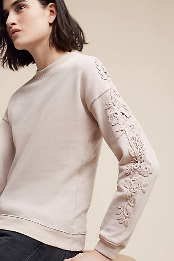 Embroidered Keary Sweatershirt