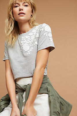 Slide View: 1: Blanche Embroidered Top