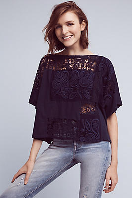 Embroidered Darrie Top
