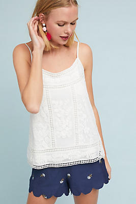 Slide View: 1: Laney Embroidered Cami