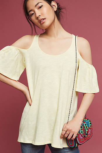 Promenade Open-Shoulder Top