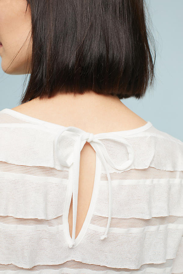 Slide View: 3: Ruffled Tiers Top