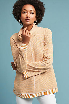Slide View: 1: Tal Cowl Neck Tunic