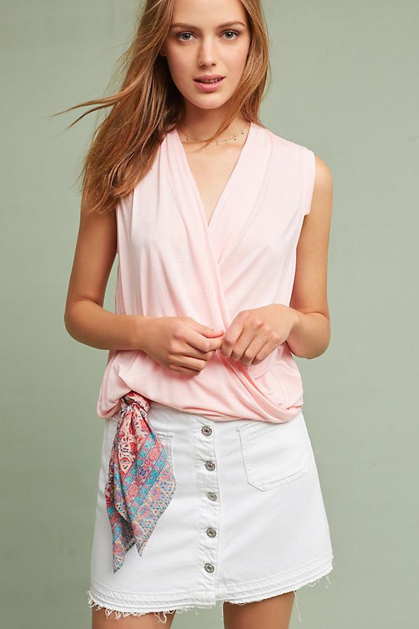 Miranda Tank Top, Pink - Pink, Size S