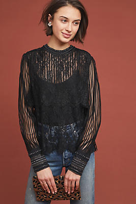 Slide View: 1: Mileena Lace Top