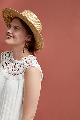 Slide View: 1: Sierra Crocheted Top