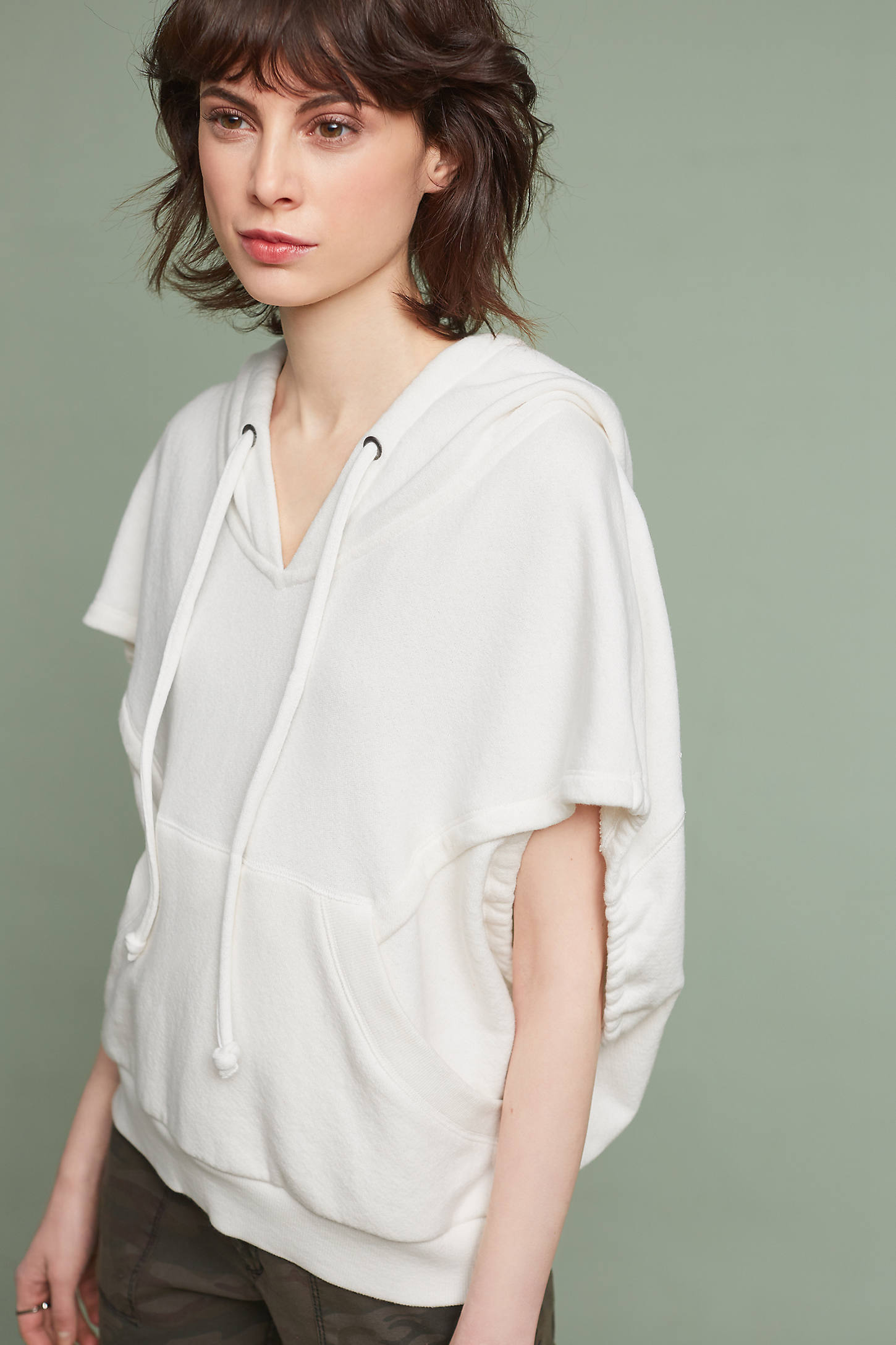 Cropped Cocoon Sweatshirt