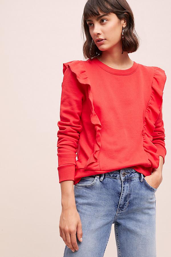 Levi's Jolie Sweatshirt - Red, Size L