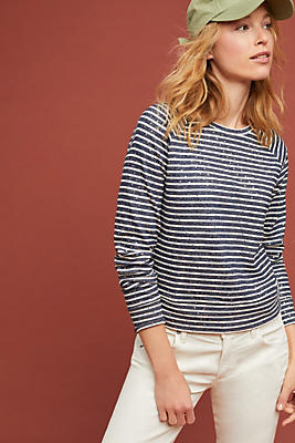 Slide View: 1: Montenegro Striped Top